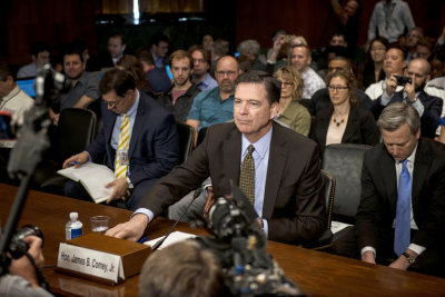 "alt=""Committee demands all FBI records re: Comey"""