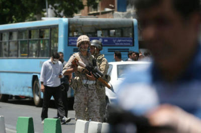"alt=""Rampage in Tehran marked an ominous escalation of regional tensions"""