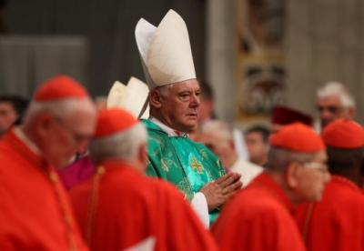 "alt=""Pope shakes up Vatican by replacing conservative doctrinal chief"""