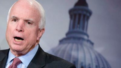 "alt=""Senator John McCain is recovering after surgery for brain cancer"""