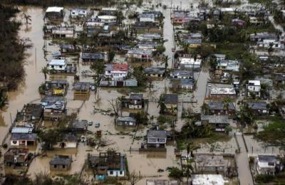 "alt=""Puerto Rico governor fears humanitarian crisis in wake of Hurricane Maria"""