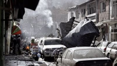 "alt=""Kabul attack: Taliban kill 95 with ambulance bomb in Afghan capital"""