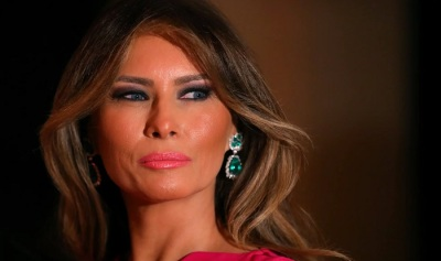 "alt=""Invisibility and opportunism make Melania Trump a first lady like no other"""