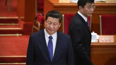 "alt=""Critics silenced ahead of China's move to end Xi term limits"""