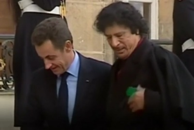 "alt=""Former French president Sarkozy held over Gaddafi cash inquiry"""