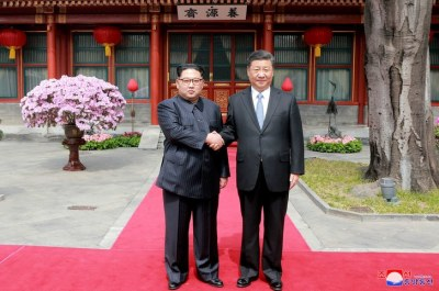"alt=""Kim Jong Un Made a Surprise China Visit"""