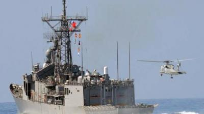 "alt=""China navy drills in Pacific as tension with Taiwan rises"""