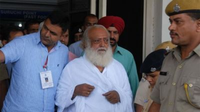 "alt=""Asaram Bapu: Indian guru sentenced to life for raping girl"""
