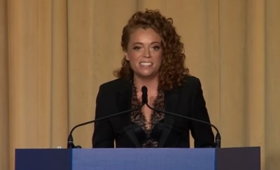 "alt=""Michelle Wolf White House routine ignites backlash and defence of Sanders"""