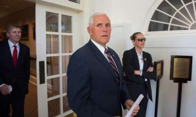 "alt=""Trump-Russia: Pence urges Mueller to end investigation 'Time to wrap it up'"""