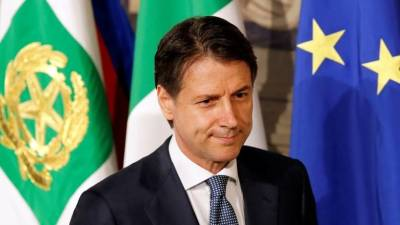 "alt=""Giuseppe Conte, unheralded professor, faces huge challenge as new Italy PM"""