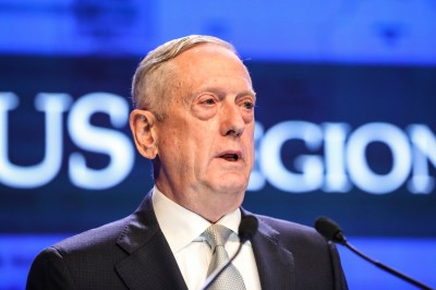 "alt=""Mattis Accuses Beijing of 'Intimidation and Coercion' in South China Sea"""
