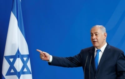 "alt=""Seeking French support, Netanyahu raises alarm over Iran enrichment plan"""