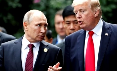 "alt=""First Trump-Putin summit has Cold War backdrop, U.S. allies nervous"""