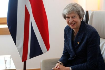 "alt=""Britain's May Wants Good Brexit Deal for UK, EU"""