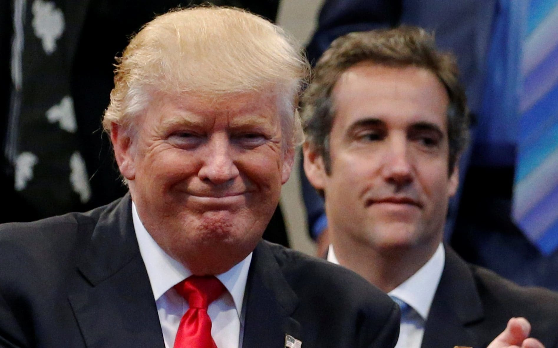 "alt=""Cohen claims president knew about secret election meeting with Russian informant"""