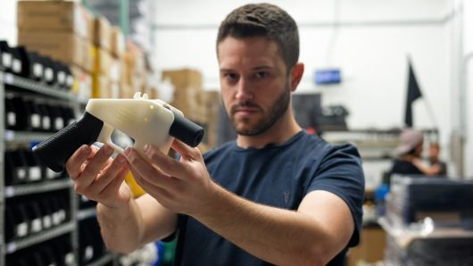 "alt=""3-D printed gun blueprints for sale after US court order, group says"""