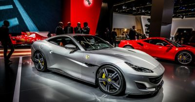 "alt=""Take a look inside Ferrari's new $210,000 Portofino"""