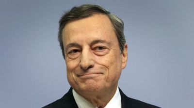 "alt=""Global financial crisis 'actually started before Lehman,' ECB's Draghi says"""