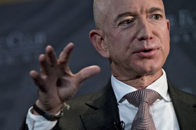 "alt=""Amazon's Bezos Finally Sketches Out His Philanthropic Vision"""
