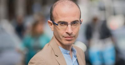 "alt=""Author Yuval Noah Harari warns AI will make us 'intolerant' of fellow humans"""