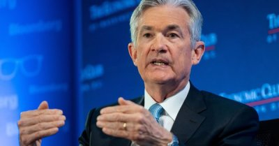 "alt=""Fed Chairman Powell says he's 'very worried' about growing amount of US debt"""