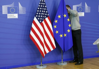 "alt=""EU set for trade talks with U.S. on March 6 amid concern over tariffs"""