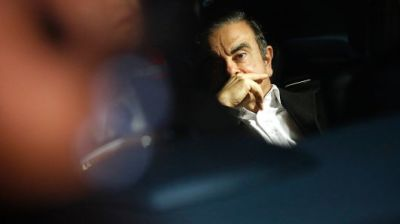 "alt=""Nissan allegedly orchestrated Ghosn's arrest to kill merger with Renault"""