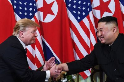"alt=""Kim Open to Another Summit With Trump, With Conditions"""