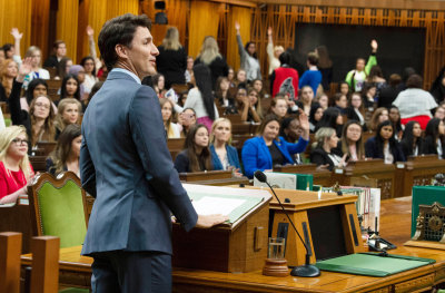 "alt=""What's a Feminist Government? Canada, & Trudeau, Grapple With the Question"""