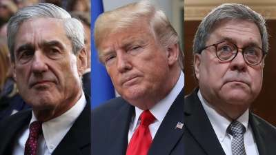 "alt=""Obstruction or not, Mueller report shows Trump's panic during Russia investigation"""