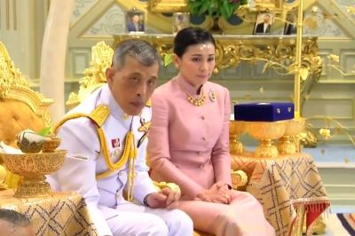 "alt=""Thailand's King Marries Palace Security Chief, Appoints Her Queen"""