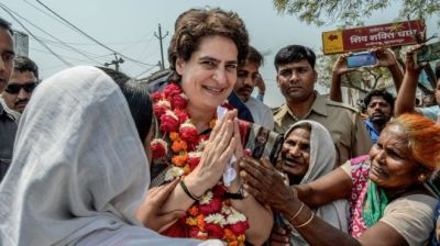 "alt=""Priyanka Gandhi: Can Congress party's 'mythical weapon' deliver?"""