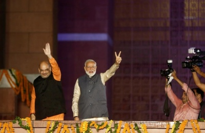 "alt=""Foreign investors hope India dials back policy shocks after Modi win"""