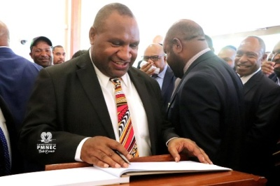 "alt=""Papua New Guinea PM says resources reforms will take years"""