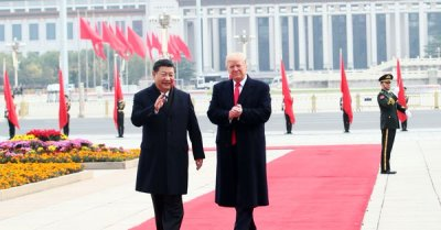 "alt=""Trump says he & China's Xi spoke, will have 'extended meeting next week' at G-20"""