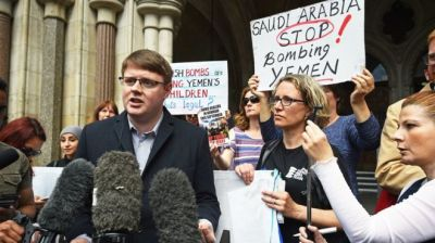 "alt=""UK arms sales to Saudi Arabia unlawful, court rules"""