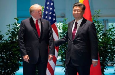"alt=""Trump will meet China's Xi to discuss trade on Saturday morning in Japan"""
