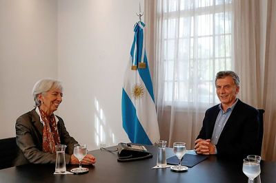"alt=""Lagarde's IMF Exit Costs Indebted Argentina Top Ally"""