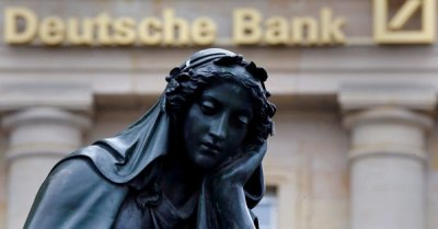 "alt=""Deutsche Bank eyes huge restructuring drive that could cost billions of euros"""