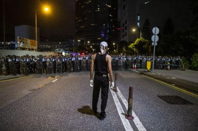 "alt=""How Hong Kong Protesters Switched Tactics to Keep Pressure on China"""