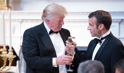 "alt=""Trump says he 'might' put tariffs on French wine in response to digital tax"""