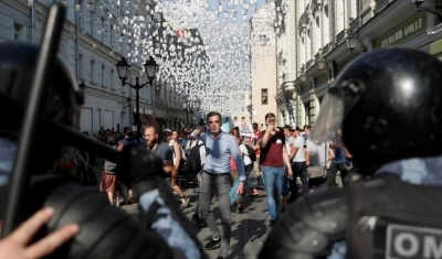 "alt=""Russia detains more than 1,000 people in opposition crackdown"""