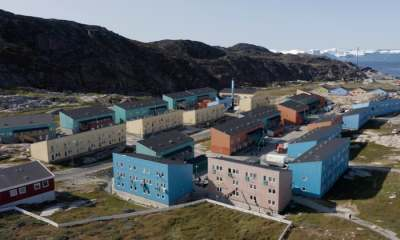 "alt=""'Ecological grief': Greenland residents traumatised by climate emergency"""