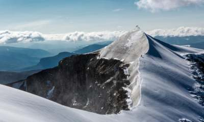 "alt=""Swedish mountain loses highest peak title due to global heating"""